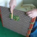 Restaurierung von LOUIS VUITTON Koffern